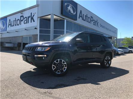 2018 Jeep Compass Trailhawk (Stk: 18-12546RJB) in Barrie - Image 1 of 28