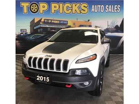 2015 Jeep Cherokee Trailhawk (Stk: 581060) in NORTH BAY - Image 1 of 29