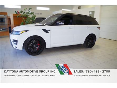 2016 Land Rover Range Rover Sport V8 Supercharged (Stk: 8814) in Edmonton - Image 1 of 3