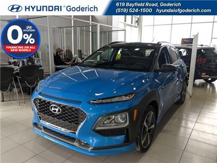 2020 Hyundai Kona 1.6T Trend AWD w/Two-Tone Roof (Stk: 20188) in Goderich - Image 1 of 6