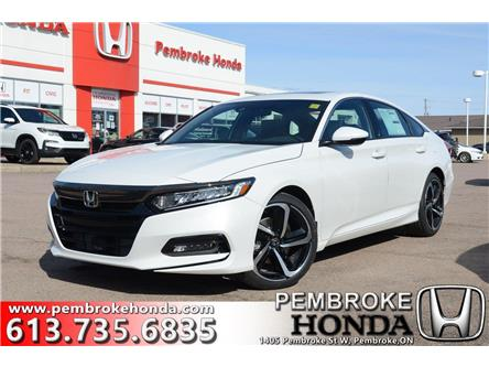 2020 Honda Accord Sport 1.5T (Stk: 20078) in Pembroke - Image 1 of 26