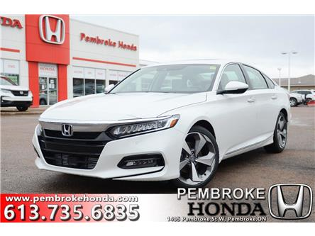 2020 Honda Accord Touring 1.5T (Stk: 20005) in Pembroke - Image 1 of 28