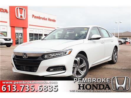 2020 Honda Accord EX-L 1.5T (Stk: 20068) in Pembroke - Image 1 of 30