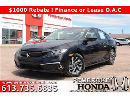 2020 Honda Civic EX (Stk: 20141) in Pembroke - Image 1 of 27