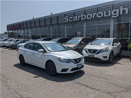 2019 Nissan Sentra 1.8 SV (Stk: D19186A) in Scarborough - Image 1 of 9