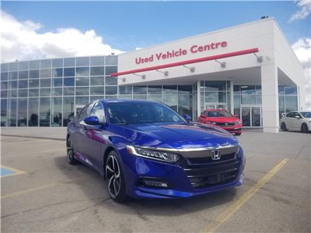 2019 Honda Accord Sport 1.5T (Stk: 2190259D) in Calgary - Image 1 of 29