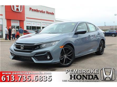 2020 Honda Civic Sport (Stk: 20103) in Pembroke - Image 1 of 22