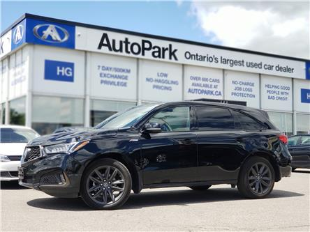 2019 Acura MDX A-Spec (Stk: 19-00875) in Brampton - Image 1 of 27