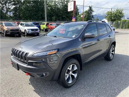 2018 Jeep Cherokee Trailhawk (Stk: K16-3001A) in Chilliwack - Image 1 of 18