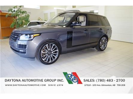2017 Land Rover Range Rover 5.0L V8 Supercharged (Stk: 6628) in Edmonton - Image 1 of 26