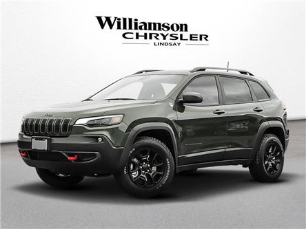 2020 Jeep Cherokee Trailhawk (Stk: 565752) in Lindsay - Image 1 of 23