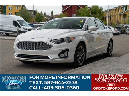 2019 Ford Fusion Hybrid Titanium (Stk: B81611) in Okotoks - Image 1 of 27