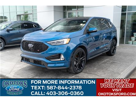 2020 Ford Edge ST (Stk: LK-136) in Okotoks - Image 1 of 6