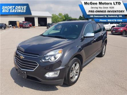2016 Chevrolet Equinox LTZ (Stk: 176552) in Goderich - Image 1 of 28