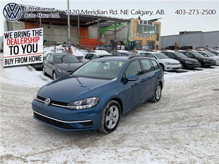 2019 Volkswagen Golf SportWagen 1.8 TSI Comfortline (Stk: 3510) in Calgary - Image 1 of 24