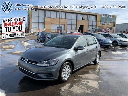 2019 Volkswagen Golf 1.4 TSI Comfortline (Stk: 3535) in Calgary - Image 1 of 24