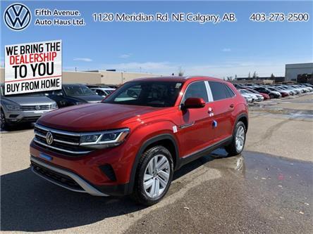 2020 Volkswagen Atlas Cross Sport 3.6 FSI Execline (Stk: 20091) in Calgary - Image 1 of 30