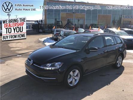 2019 Volkswagen Golf SportWagen 1.8 TSI Comfortline (Stk: 3552) in Calgary - Image 1 of 25