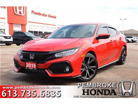 2019 Honda Civic Sport Touring (Stk: P7447) in Pembroke - Image 1 of 30