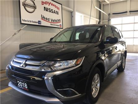2018 Mitsubishi Outlander ES (Stk: PM19006) in Owen Sound - Image 1 of 11