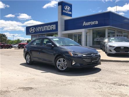 2020 Hyundai Elantra  (Stk: 22142) in Aurora - Image 1 of 15