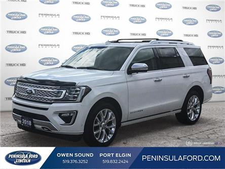 2018 Ford Expedition Platinum (Stk: 20LI40A) in Owen Sound - Image 1 of 27