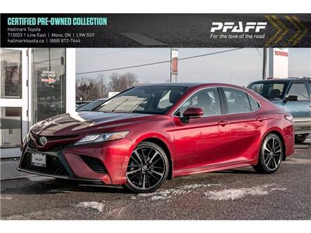 2018 Toyota Camry 4-Door Sedan XSE V6 8A (Stk: H20237A) in Orangeville - Image 1 of 22