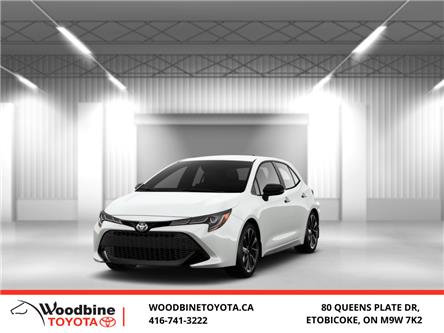 2020 Toyota Corolla Hatchback Base (Stk: 20-550) in Etobicoke - Image 1 of 11