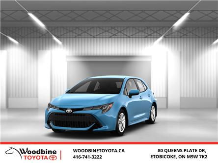 2020 Toyota Corolla Hatchback Base (Stk: 20-525) in Etobicoke - Image 1 of 13