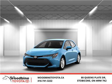 2020 Toyota Corolla Hatchback Base (Stk: 20-652) in Etobicoke - Image 1 of 10