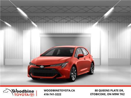 2020 Toyota Corolla Hatchback Base (Stk: 20-722) in Etobicoke - Image 1 of 10