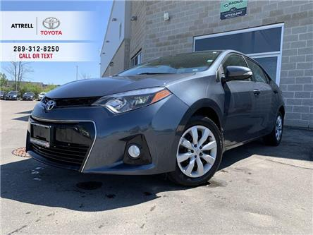 2015 Toyota Corolla S BACK UP CAMERA, KEYLESS, FOG LAMPS, SPOILER, ABS (Stk: 46998A) in Brampton - Image 1 of 24