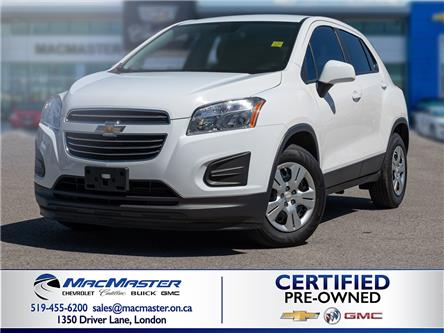 2016 Chevrolet Trax LS (Stk: 205070A) in London - Image 1 of 10