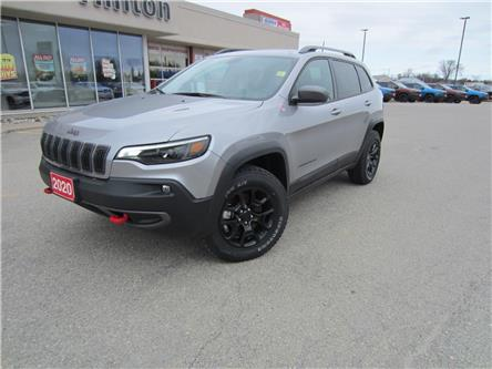 2020 Jeep Cherokee Trailhawk (Stk: 20054) in Perth - Image 1 of 27
