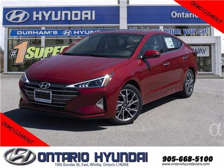 2020 Hyundai Elantra Preferred w/Sun & Safety Package (Stk: 952483) in Whitby - Image 1 of 16