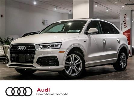 2016 Audi Q3 2.0T Technik (Stk: P3761) in Toronto - Image 1 of 8