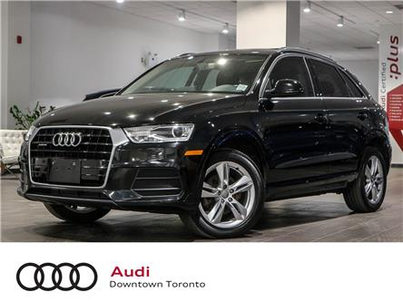2016 Audi Q3 2.0T Progressiv (Stk: P3758) in Toronto - Image 1 of 26
