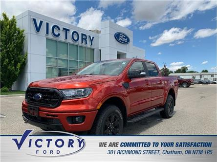2019 Ford Ranger Lariat (Stk: V10399CAP) in Chatham - Image 1 of 19