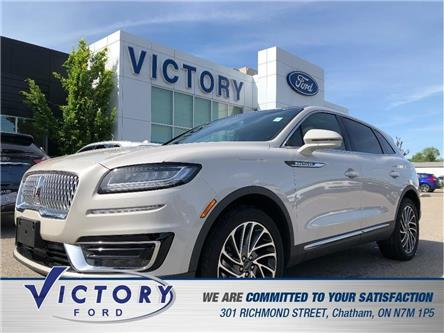 2019 Lincoln Nautilus Reserve (Stk: V10389CAP) in Chatham - Image 1 of 26