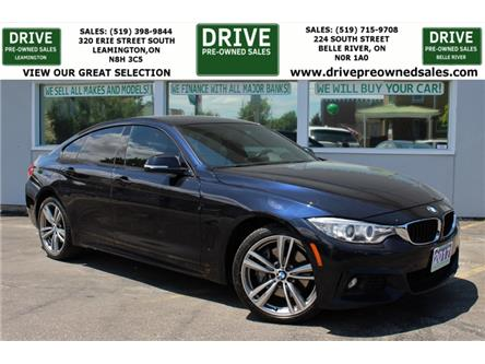 2017 BMW 430i xDrive Gran Coupe (Stk: D0273) in Belle River - Image 1 of 29