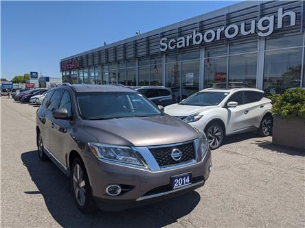 2014 Nissan Pathfinder Platinum (Stk: Y19038A) in Scarborough - Image 1 of 6