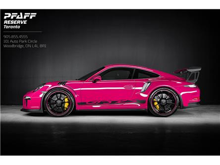 2016 Porsche 911 GT3 RS (Stk: PQ001) in Woodbridge - Image 1 of 19