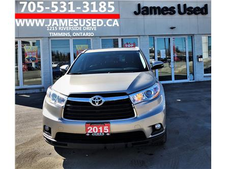2015 Toyota Highlander XLE (Stk: N2011A) in Timmins - Image 1 of 15
