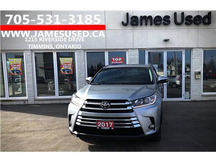 2017 Toyota Highlander Limited (Stk: N20162A) in Timmins - Image 1 of 14