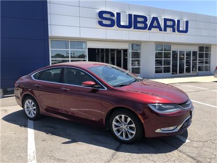 2016 Chrysler 200 C (Stk: P596A) in Newmarket - Image 1 of 20