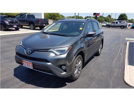 2018 Toyota RAV4 Hybrid Limited (Stk: A30431) in Sarnia - Image 1 of 6