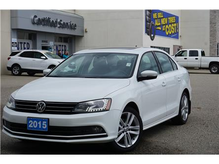 2015 Volkswagen Jetta 1.8 TSI Highline (Stk: 20-132A) in Salmon Arm - Image 1 of 25