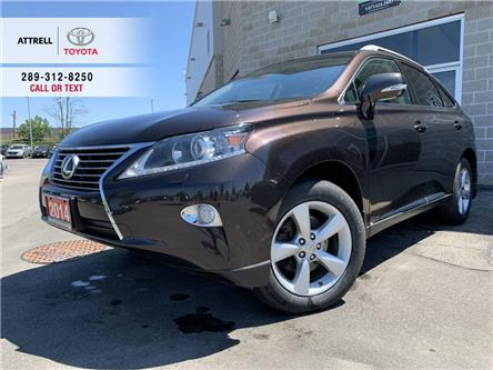 2014 Lexus RX 350 AWD LEATHER, ALLOY WHEELS, FOG LAMPS, SUNROOF, PUS (Stk: 47181B) in Brampton - Image 1 of 25