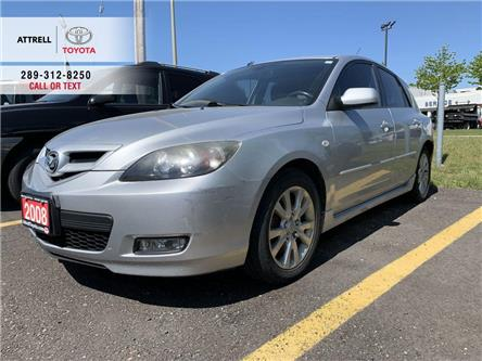 2008 Mazda Mazda3 GS HATCHBACK ALLOY WHEELS, FOG LAMPS, STEERING WHE (Stk: 47262A) in Brampton - Image 1 of 10