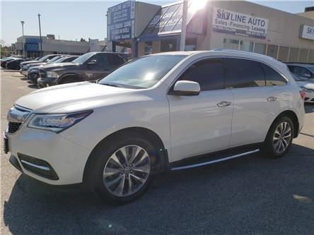 2014 Acura MDX Technology Package (Stk: ) in Concord - Image 1 of 28
